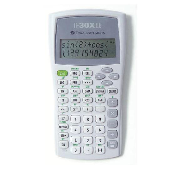 Texas Instruments TI-30XIIB  fra Skolehuset.no