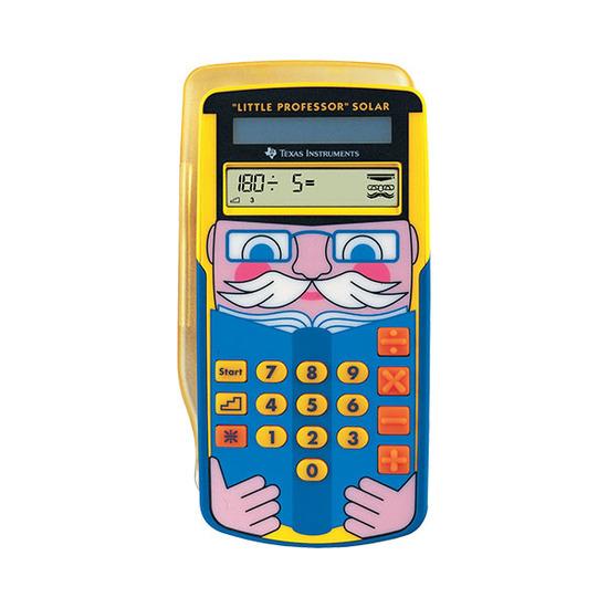Texas Instruments TI Little Professor Solar ‑ Kalkulator for barn fra Skolehuset.no