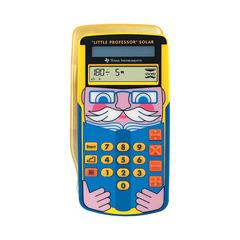 Texas Instruments TI Little Professor Solar ‑ Kalkulator for barn