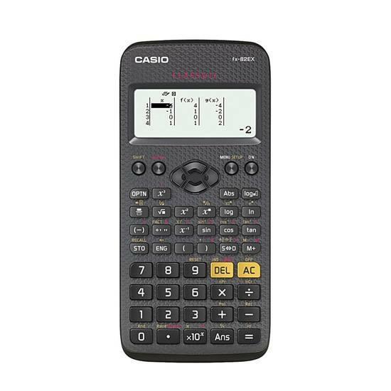 Casio FX-82EX ClassWiz kalkulator fra Skolehuset.no