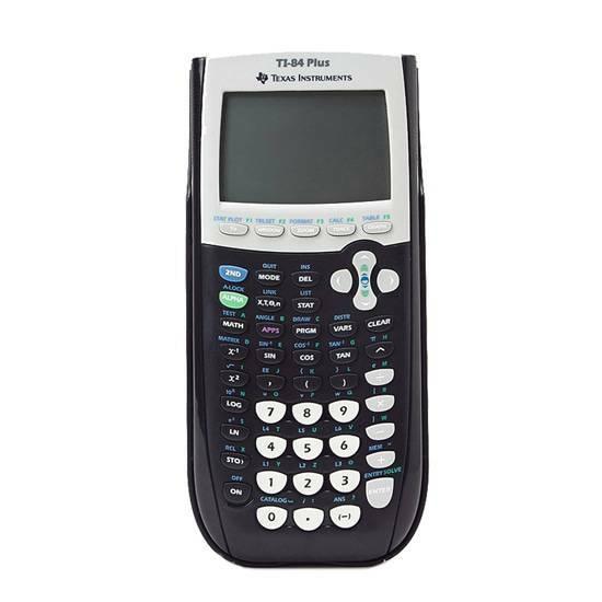 Texas Instruments TI-84 Plus Grafisk Kalkulator fra Skolehuset.no