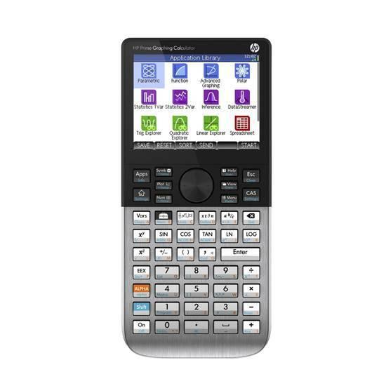 HP Prime ‑  Graphing Calculator Grafisk Kalkulator med CAS fra Skolehuset.no
