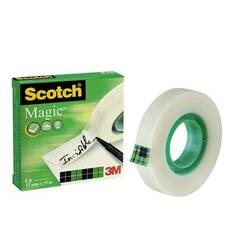 Scotch 3M Magic tape, 12mm x 33m - Usynlig