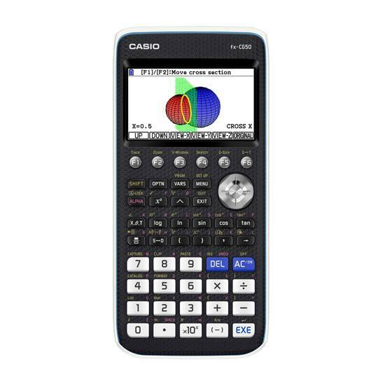 Casio FX‑CG50 Grafisk kalkulator fra Skolehuset.no