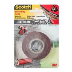 Scotch 3M Ekstrem sterk dobbeltsidig monteringstape 19mm x 1,5m.