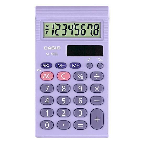 Casio SL-460L - Kalkulator for grunnskolen fra Skolehuset.no