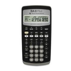 Texas Instruments TI‑BA II Plus Financial ‑ Finanskalkulator