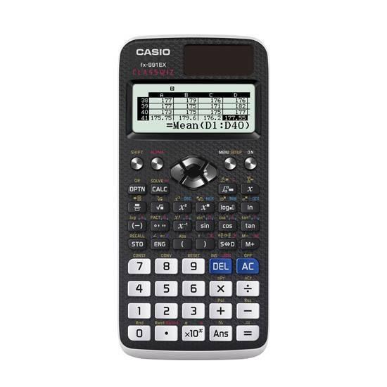 Casio FX‑991EX ClassWiz kalkulator fra Skolehuset.no