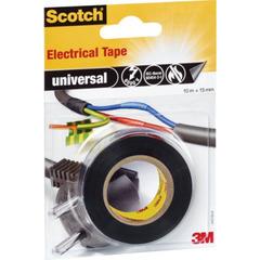 Scotch 3M Elektriker universal tape sort 15mm x 10m