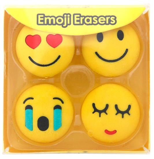 Emoji Viskelær - forelsket og smilefjes fra Skolehuset.no