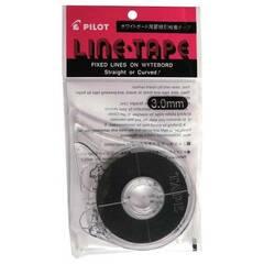 Pilot ‑ Line Tape ‑ Tavleteip 3mm sort