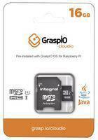 GraspIO Cloudio MicroSD‑kort med pre-installert GraspIO OS til Raspberry Pi