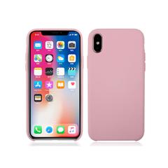Deksel i silikon til iPhoneX lys rosa