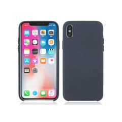 Deksel i silikon til iPhoneX mørk blå