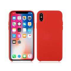 Deksel i silikon til iPhoneX rødt