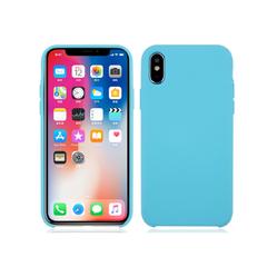 Deksel i silikon til iPhoneX turkis