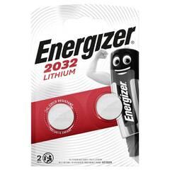 Energizer Lithium CR2032 Batterier (2 Stk. Pakning)