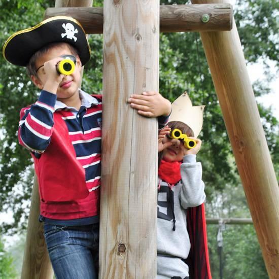 National Geographic Junior teleskop 8x32 ‑ Spesielt tilpasset barn (og pirater!)  fra Skolehuset.no