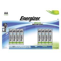 Energizer Eco Advanced AA/LR6 ‑ Pakke med 8