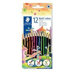 Staedtler  Noris Colour 12 Fargeblyanter - Sekskantet