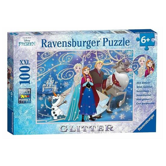 Ravensburger Frozen med glitter - Puslespill fra Skolehuset.no