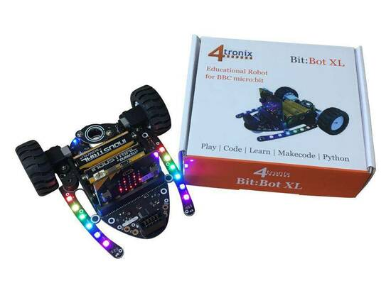 4tronix Bit:Bot XL robot til MicroBit fra Skolehuset.no