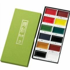 ZIG Gansai Tambi Kuretake Akvarellmaling ‑ 12 farger