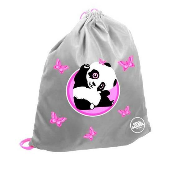 Tinka gympose av ekstra lyssterk refleks - Vinkende panda    fra Skolehuset.no