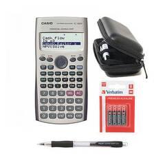 Casio FC‑100V ‑ Finansiell kalkulator inkl. tilbehørspakke
