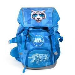 Tinka skolesekk - Blåmed tiger