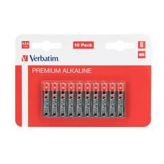 Verbatim AAA‑1,5V batterier - Pakke med 10