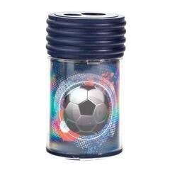 Tinka Blyantspisser med beholder og dobbelt hull ‑ Fotballmotiv