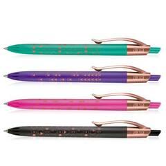 Milan Capsul Kulepenner i kobberfarge ‑ Pakke med 4 farger