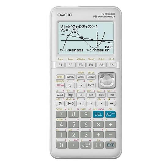 Casio FX‑9860GIII Grafisk Kalkulator fra Skolehuset.no