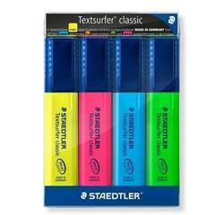 Staedtler Markeringstusjer 4 farger