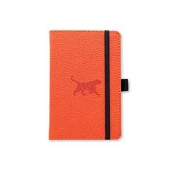 Dingbats* Wildlife A6+ Orange Tiger Notatbok ‑ Linjert