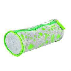 Viquel ‑ Posepennal ‑ Grått med neon grønne malingsflekker