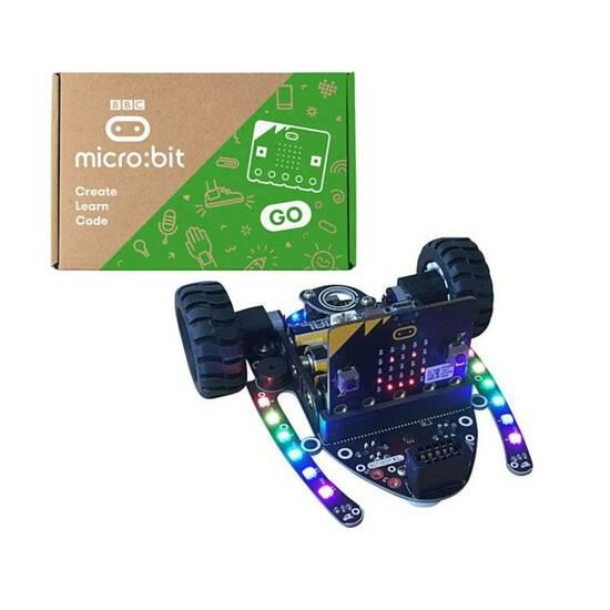 4tronix Bit:Bot XL robot inkludert Microbit V2! fra Skolehuset.no