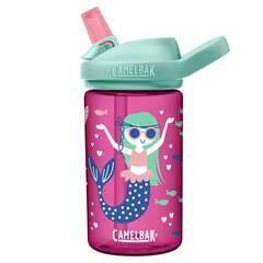 Camelbak Eddy+ drikkeflaske ‑ Rosa med havfruer 400ml