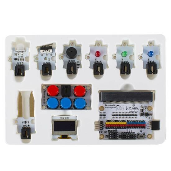 Microbit Tinker Kit (Inkludert Microbit V1) fra Skolehuset.no